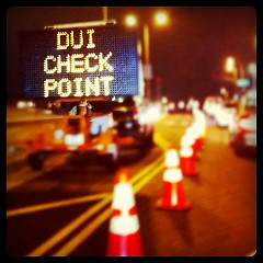DUI Checkpoint Sign by Jory on Flickr