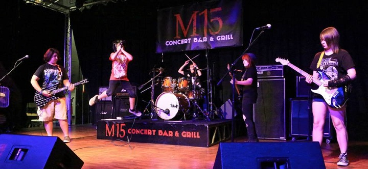 Shot in the Dark performing at M15