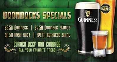Boondocks Saint Patrick's Day Specials