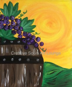 Creative Souls Art Lounge Aged To Perfection painting