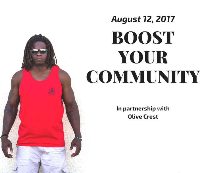 August 12, 2017 Boost Your Community in Partnership with Olive Crest