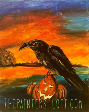The Raven painting
